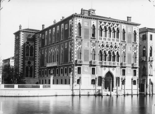 Il palazzo Franchetti-Cavalli a Venezia