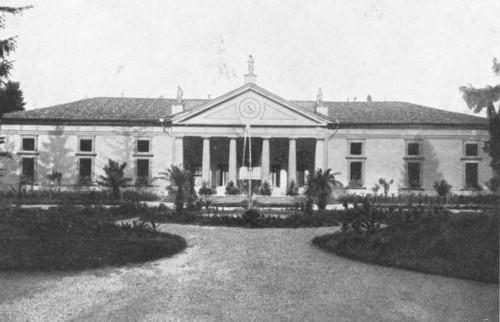 La villa Franchetti a San Trovaso di Treviso