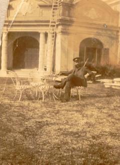 Alberto a S. Trovaso (TV) nel 1905