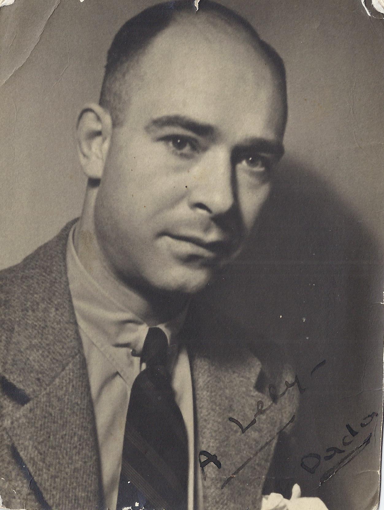 Arnold Franchetti, figlio di Alberto ed Erminia Bellati