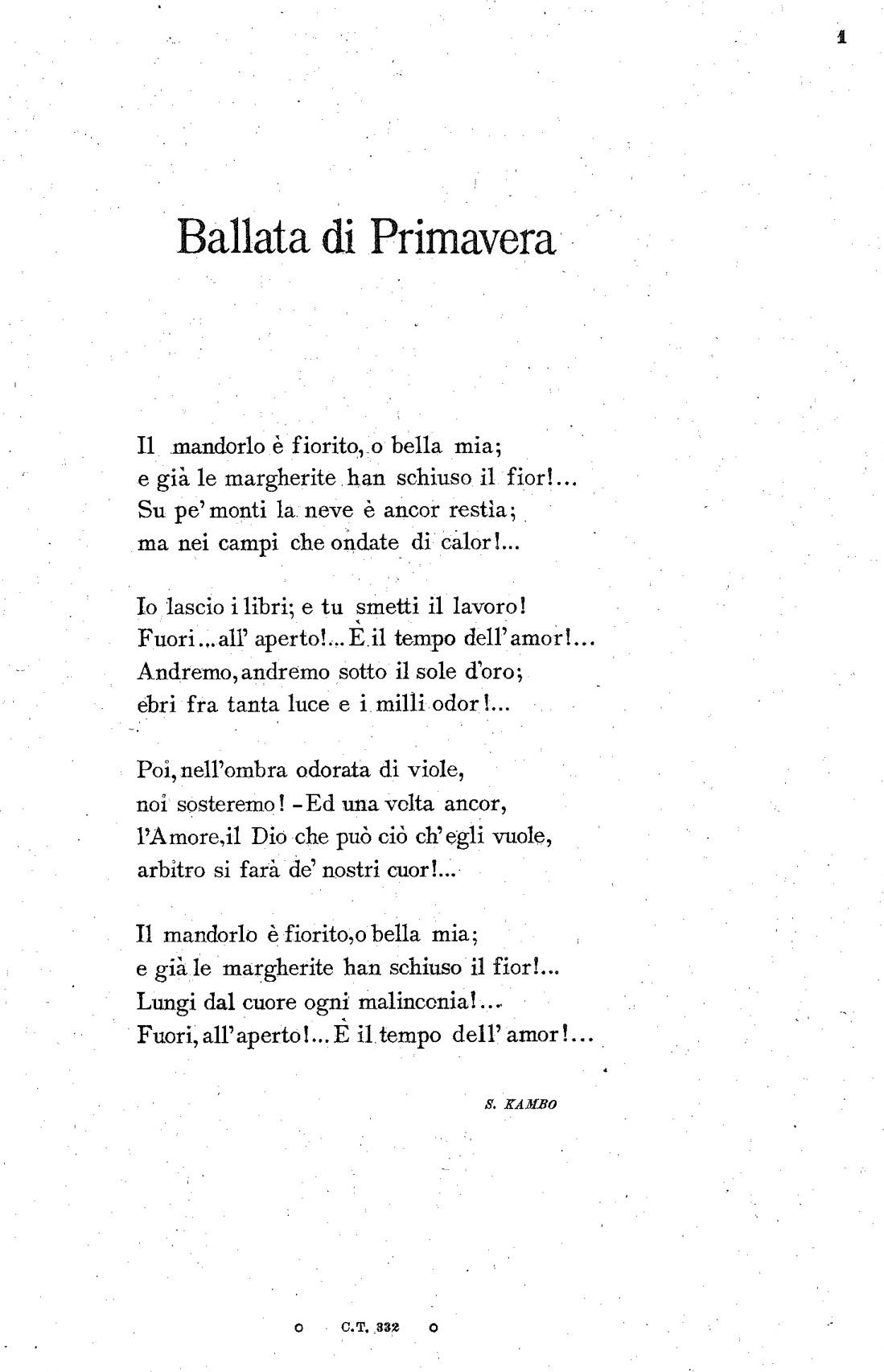 Franchetti - Ballata di primavera1