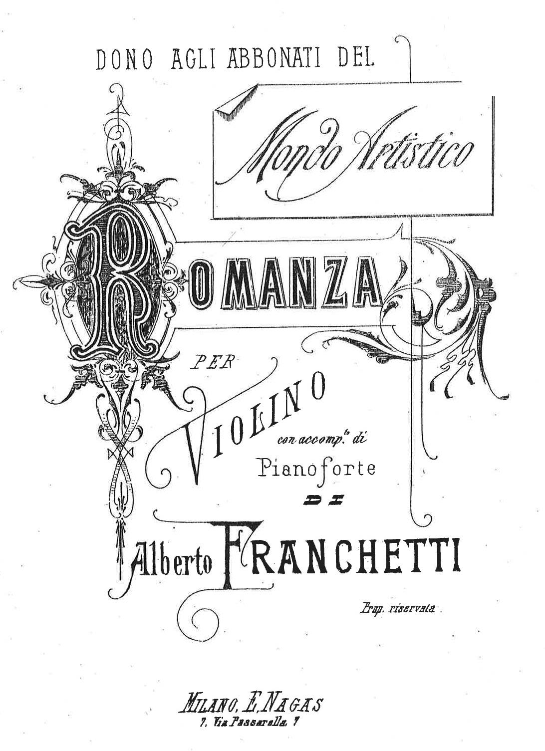 Franchetti_romanza per violino e pianoforte-FRONT