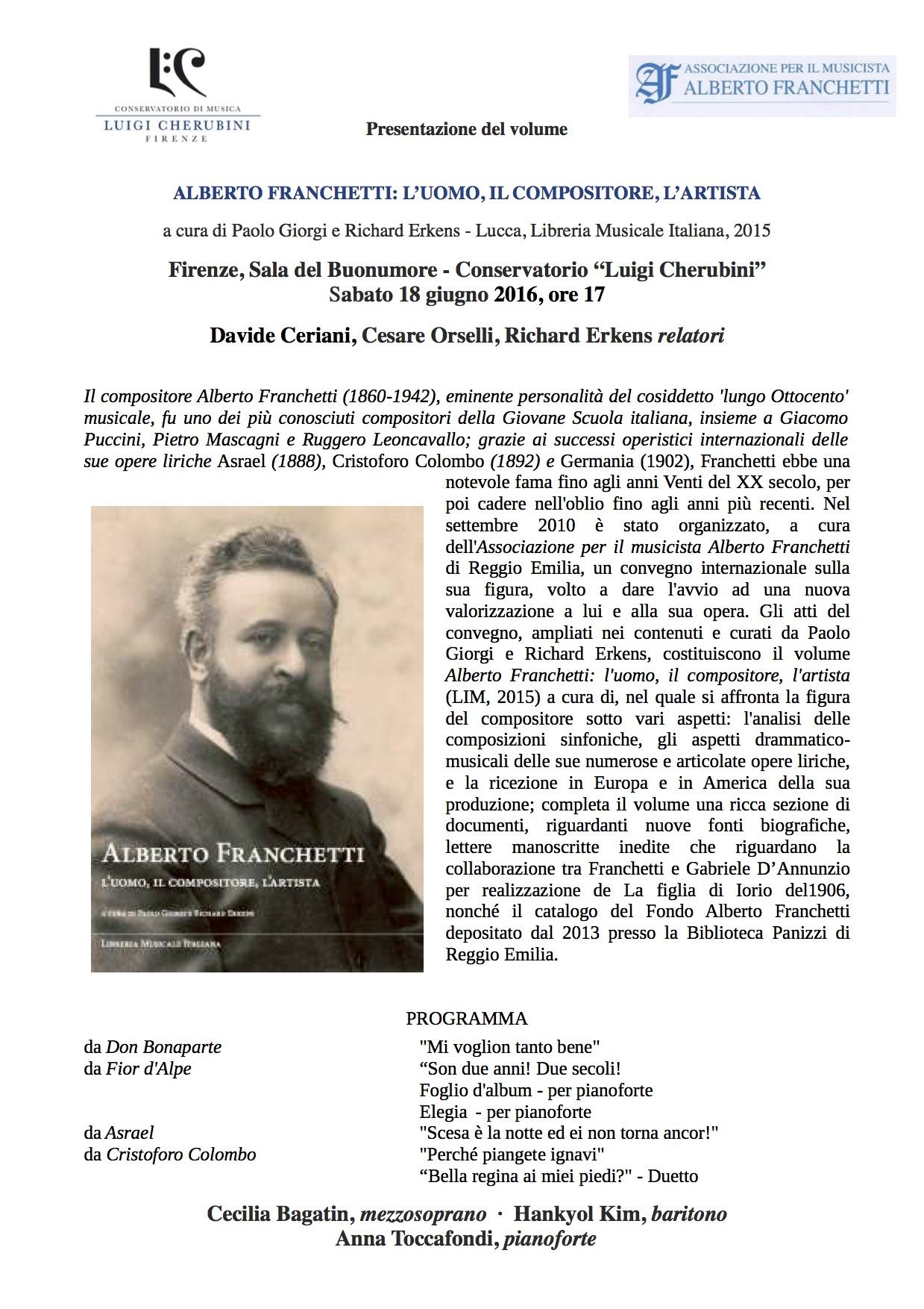 Firenze - 18 giu 2016 - presentazione - Locandina